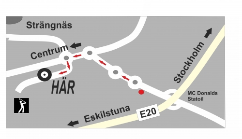 Karta Kilenvägen 7 strzalki