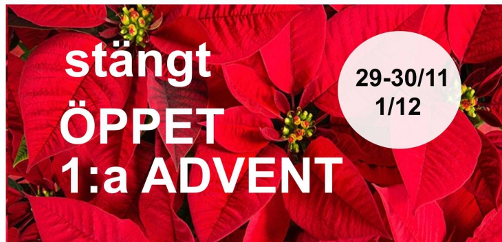 Oppet 1 a advent