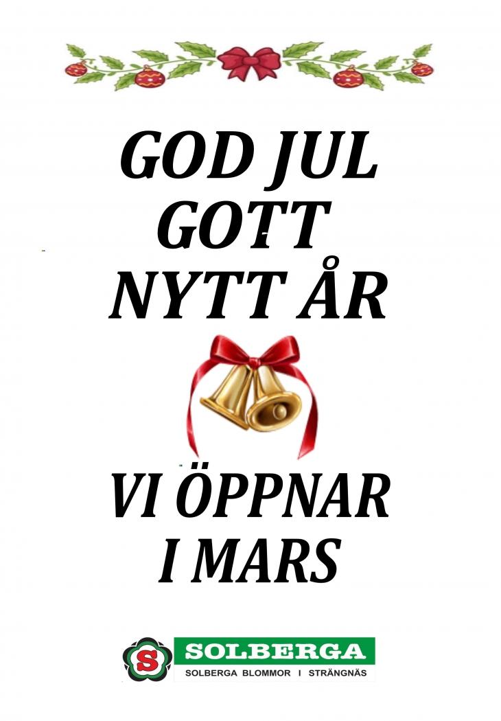 GOD JUL GOTT NYTT [R 1001 40_bak